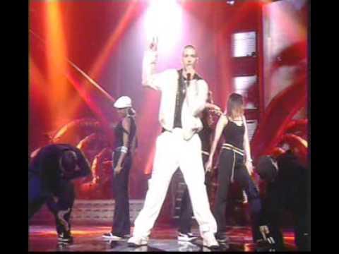 Kylie Minogue and Justin Timberlake Live Brits Award 2003