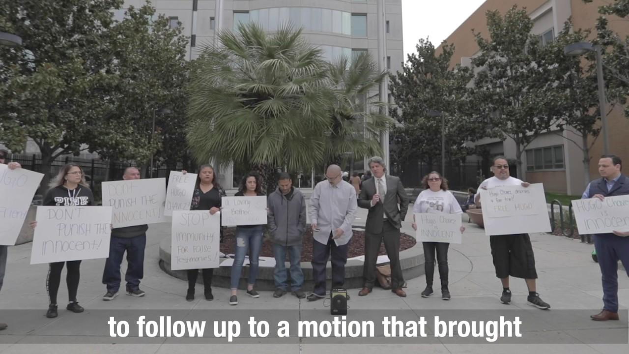Family of Hugo Chavez Rally to Stop an Unjust Life Sentence
