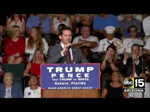 FULL EVENT: Trump Rally in Estero, FL - Plus, Mike Pence Q&A in Mason City, IA