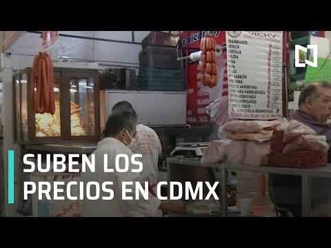 Alza en precio de la tortilla, carne y huevo en CDMX - Por las Mañanas