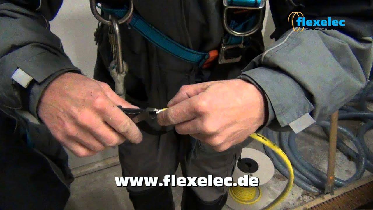 8m VOSS Heizkabel IPX7 Frostschutz Begleitheizung Heizleitung selbstregelnd