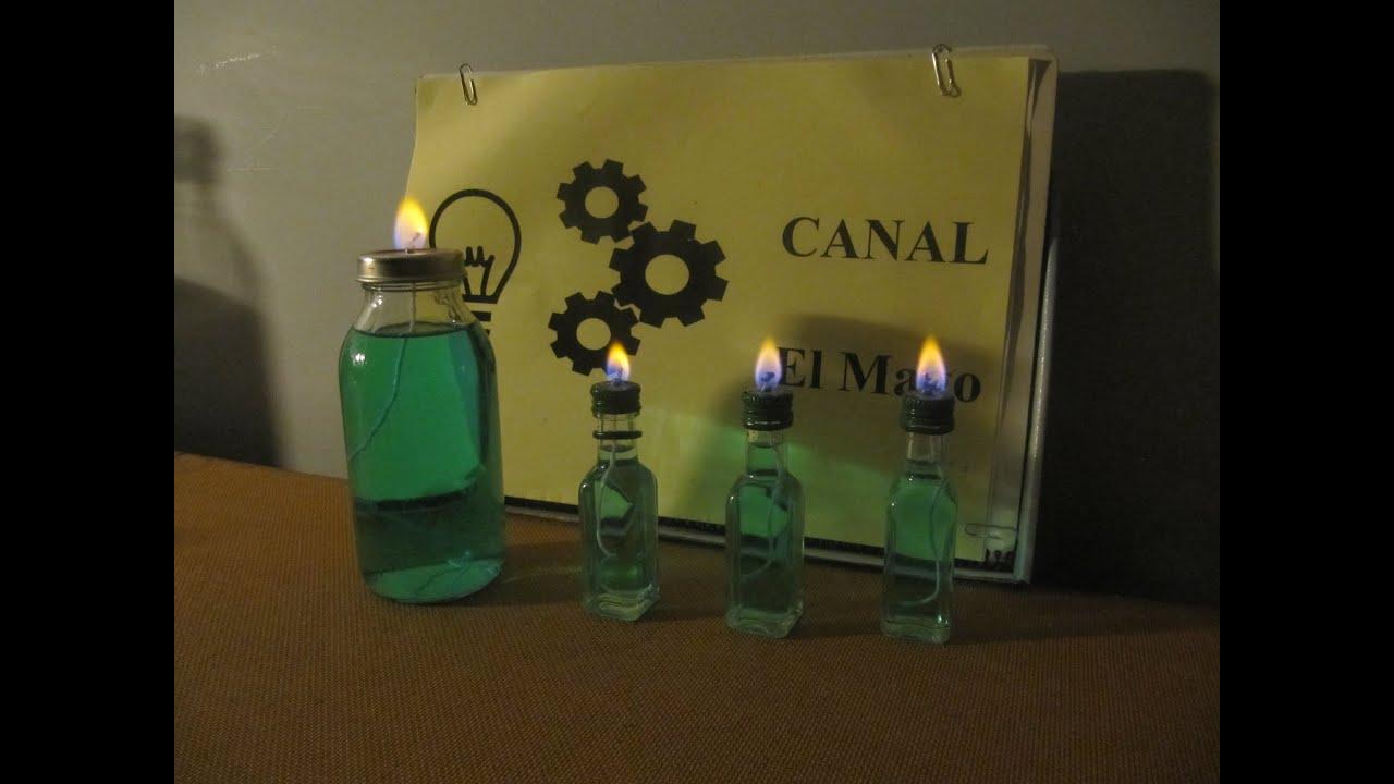 Como hacer l mpara de alcohol how to make alcohol lamps - Como hacer una lampara ...