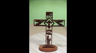 DYI Como Calar Cruz de Pascua con Caladora de banco.