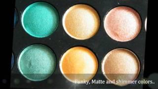 180 eye shadow palette.wmv Thumbnail