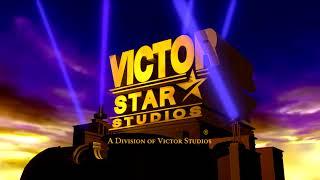 Victor Star Studios logo (2008-2011) (Open Matte Variant)