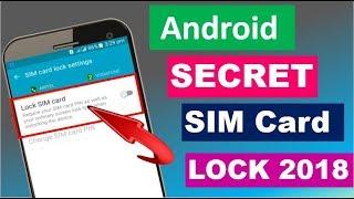 Android Secret Sim Lock 2018 |Android Secret Lock 2018 |Technical Jagattu