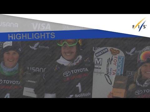 Highlights | Eva Samkova shines in Solitude Snowboardcross | FIS Snowboard