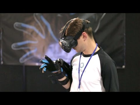 Contact CI Demos Haptic VR Glove