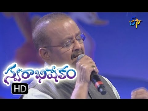 Prema Ledani Song | SP Balu Performance | Swarabhishekam | 25th September 2016 | ETV Telugu