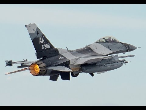 The F-16 Falcon Superiority Fighter of US Air Force