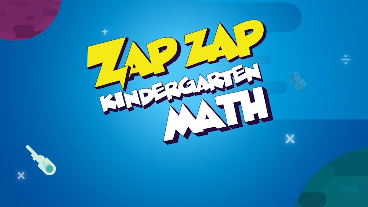 Zap Zap Kindergarten Math | Adaptive Learning Game - YouTube