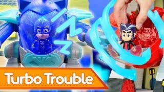 PJ Masks Creations 💜 Wolfies and the Giant Bone! 🎃 Happy Halloween 🎃 Play with PJ Masks