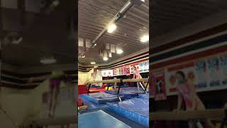 Lilly Timmerman class of 2024 front aerial back tuck