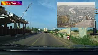Состояние дорог в Украине  Полтава - Кременчуг Андрей Полтава ВАТА ШОУ 18.07.2018