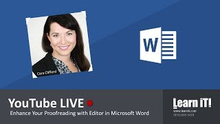 Microsoft Word | Enhance Your Proofreading with Editor