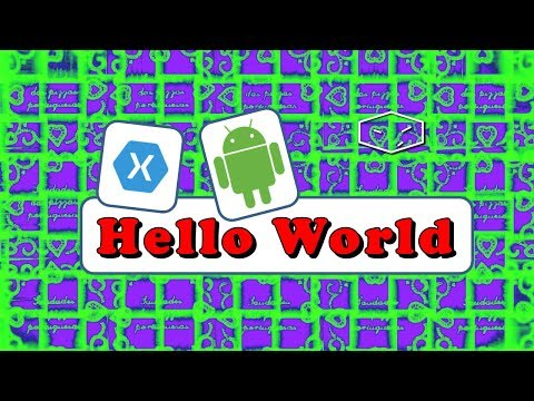 visual studio 2015 xamarin android hello world