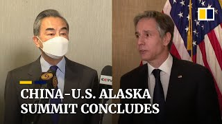Alaska summit: China tells US not to underestimate Beijing's will to safeguard national dignity