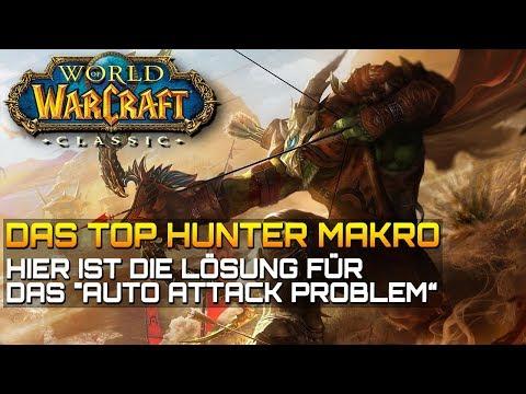 wow-classic-❤️-top-hunter-makro---easy-auto-attack-/-automatischer-schuss-|-gameplay-deutsch/german