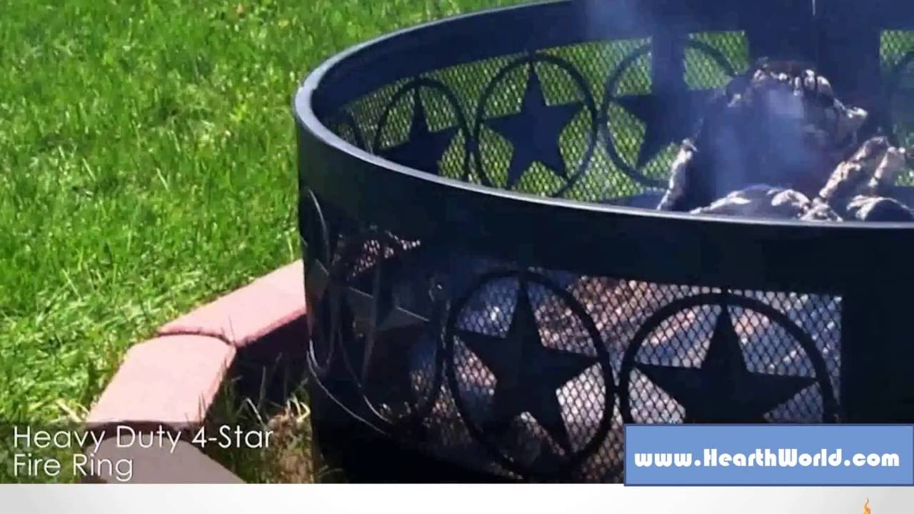 FIRE PIT RING   FOUR STAR FIRE RIM