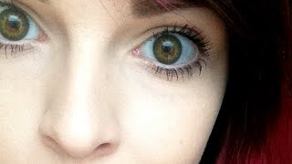 Spooky Eyes Colour Contact Lenses Review ♥ First Impressions