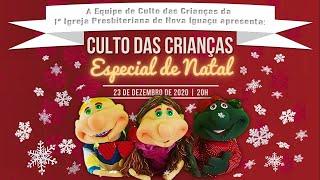 Culto das Crianças Especial de Natal
