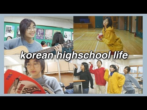 A Day in KOREAN High School Vlog EXPOSED