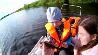 Рыбалка река Луга д.Орлы часть 2