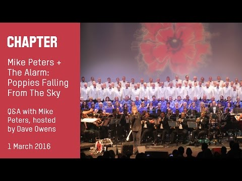 Mike Peters and The Alarm: Poppies Falling from the Sky