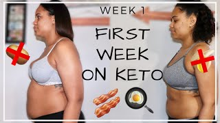 KETO FOR BEGINNERS | My 1st Week on KETO