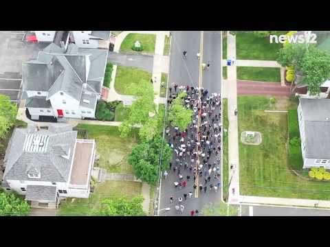 Protest Underway In Toms River, New Jersey