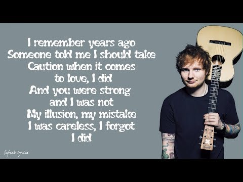 Ed Sheeran  Impossible Lyrics