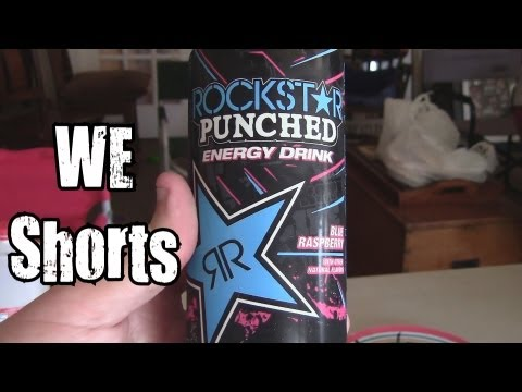 WE Shorts - Rockstar Punched Blue Raspberry w/ LA Beast