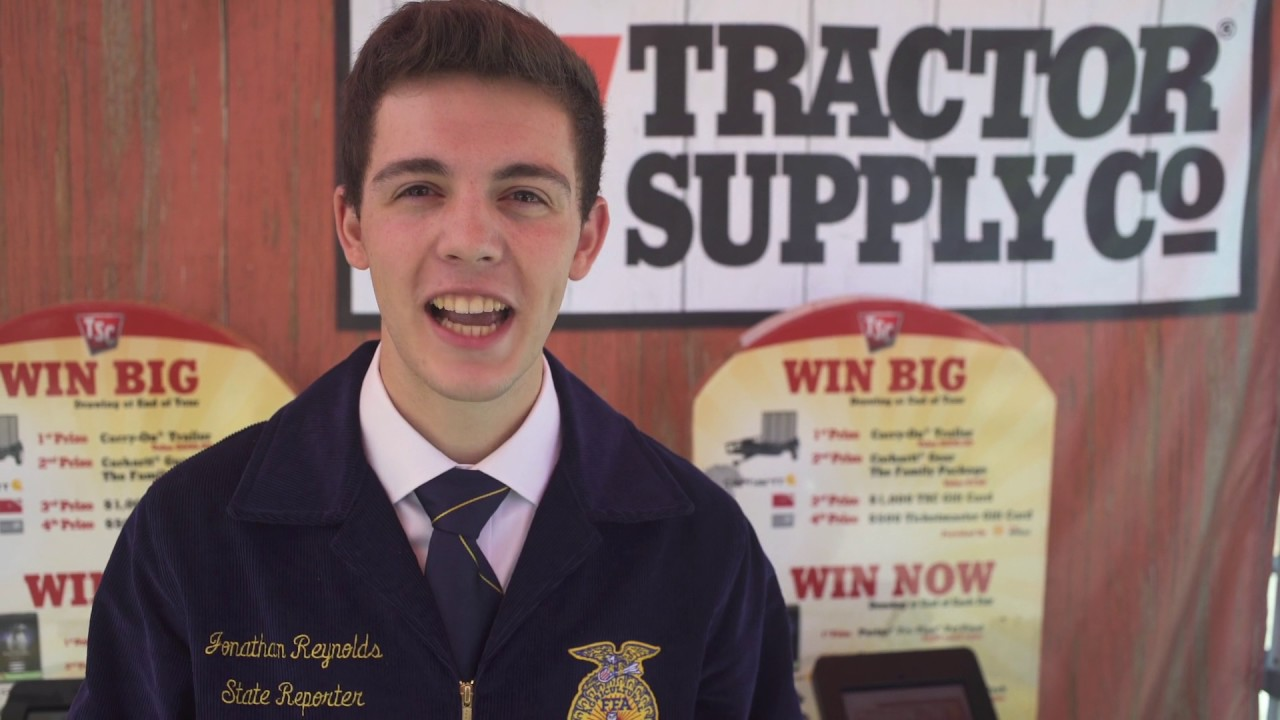 FFA Members Celebrated During Tractor Supply Company's Fair