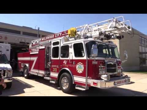 Wildwood New Jersey State Firemen's Memorial Parade Wildwood NJ September 19th 2015 Full Parade