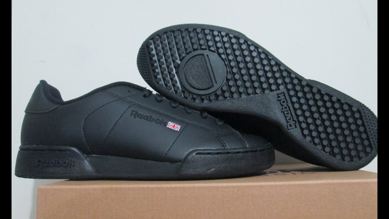 6d5a6a513eba zapatillas reebok NPC II black - YouTube