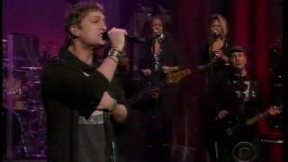 Rob Thomas - Someday (Letterman 12-09-2009)