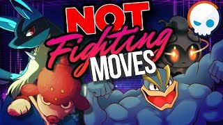 Pokemon: EVERY Fighting Type Move Explained! | Gnoggin