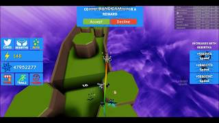 New map Underworld *GLITCH* Jumping to Racing Island - Roblox Dashing Simulator
