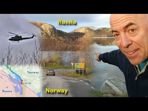 Visiting the Russia-Norway Border (October 2015) at Sør-Varanger/Kirkenes, Norway