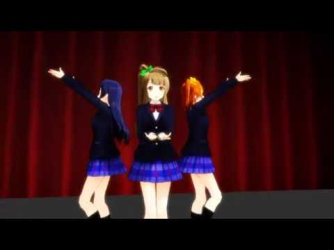 【MMD】 Start Dash Love Live School Idols Project