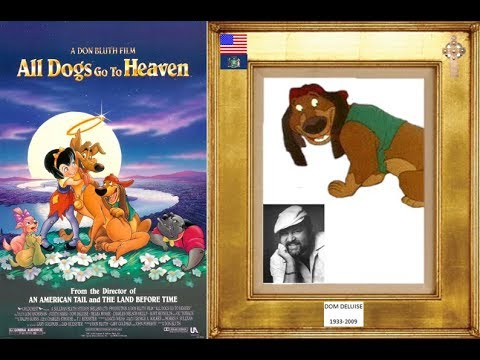 Dom Deluise 1933 2009 All Dogs Go To Heaven 1989 Youtube