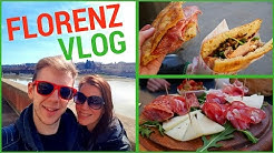 Panini, Pizza & Gelato   Wir probieren ALLES   Florenz Vlog
