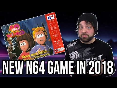 NEW N64 Game Coming in 2018 - 40 Winks | RGT 85