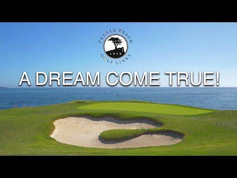 PEBBLE BEACH GOLF LINKS - A DREAM COME TRUE!