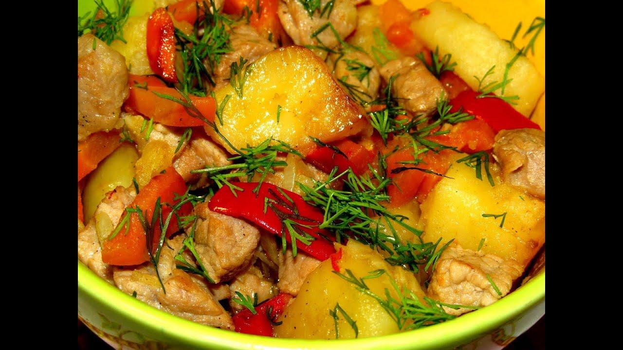 Вкусно - #ЖАРКОЕ с Мясом и Овощами в Горшочках ЖАРКОЕ в ...