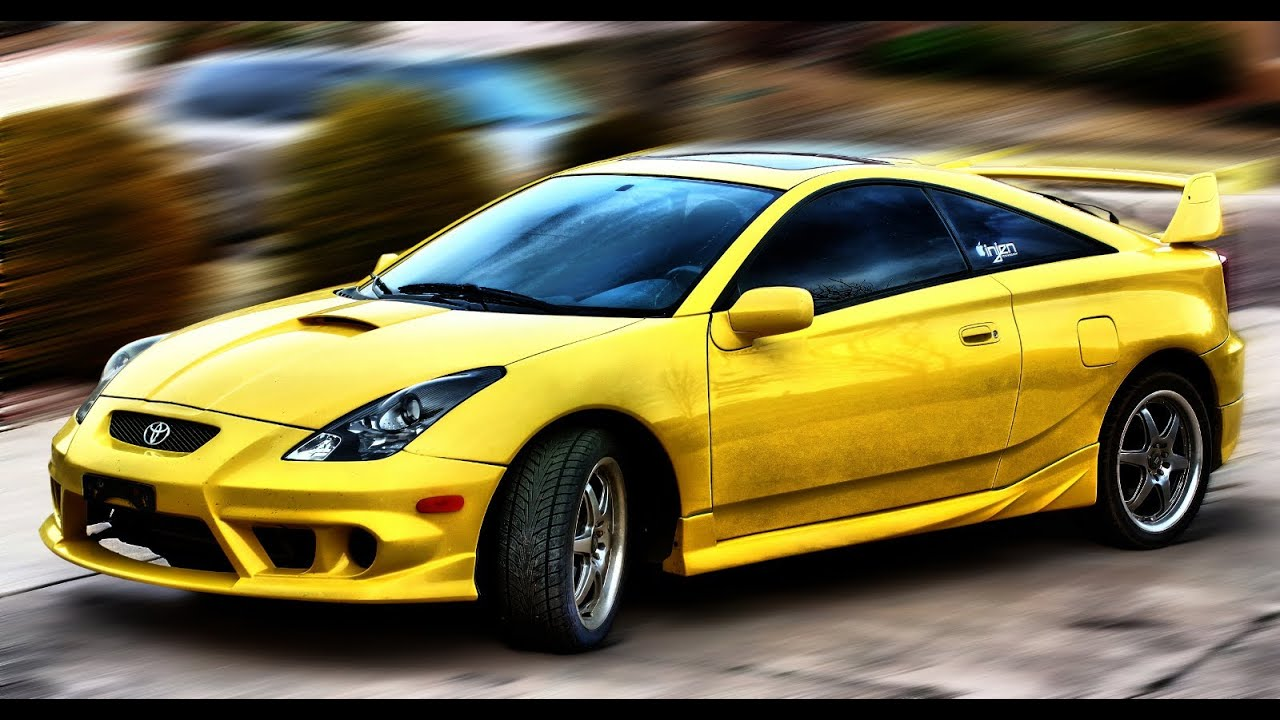2003 toyota celica gt s 0 100 youtube. Black Bedroom Furniture Sets. Home Design Ideas
