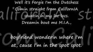 Nelly and Fergie Party people lyrics