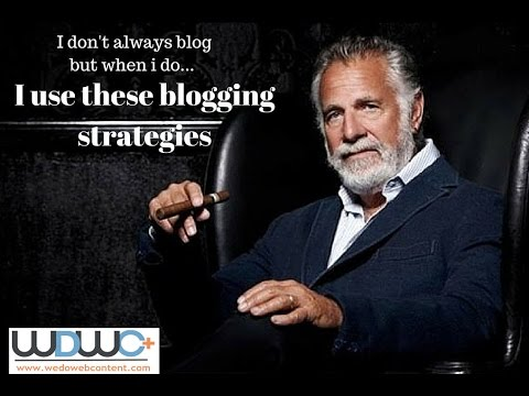 Webinar:  SEO Blogging Strategies for law firms