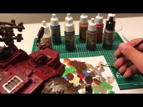 Review Time! The Army Painter Paints and Brushes