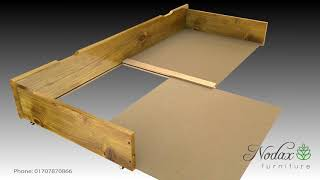 Nodax Underbed Drawers Assembly Instructions - Applies to all Nodax.uk Underbed drawers